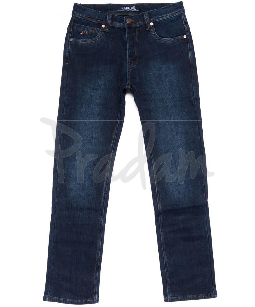 0888 Bagrbo джинсы мужские полубатальные на флисе зимние стрейчевые (32-38, 8 ед.)
