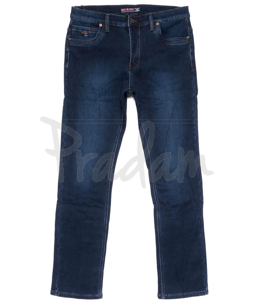 3720 Bagrbo джинсы мужские полубатальные на флисе зимние стрейчевые (32-38, 8 ед.)