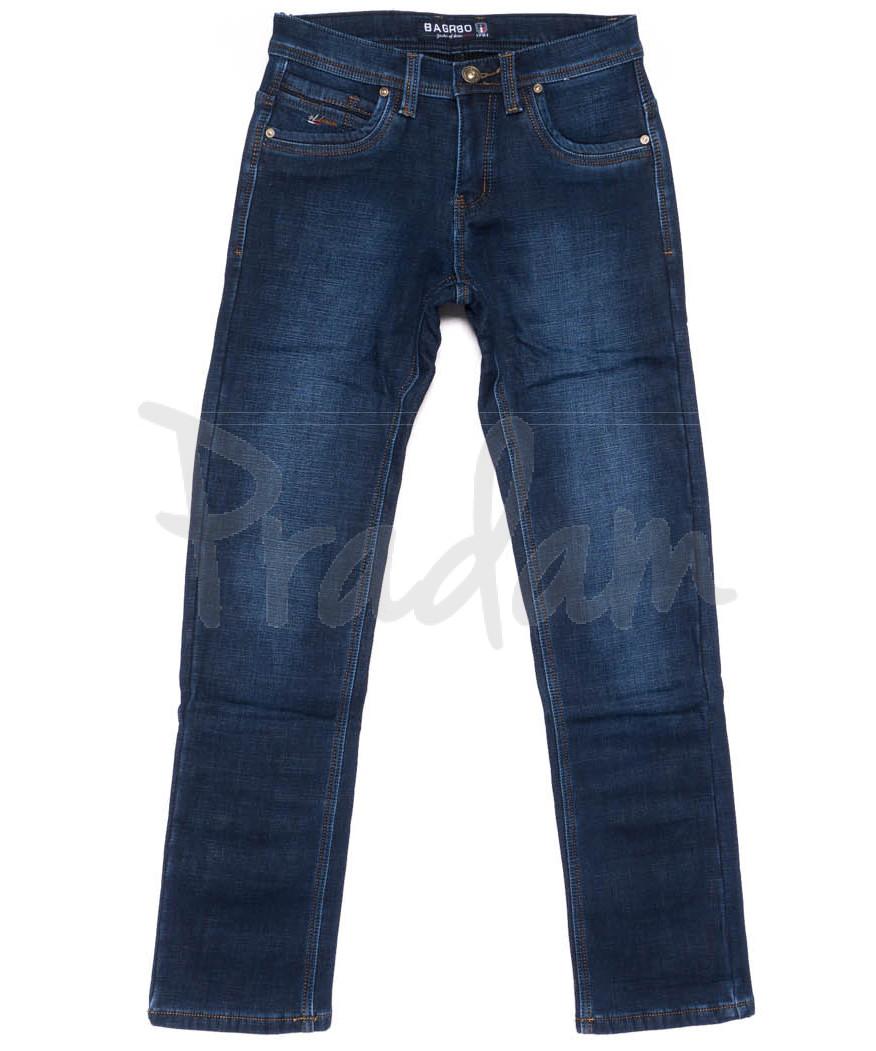 3555 Bagrbo джинсы мужские на флисе зимние стрейчевые (29-38, 8 ед.)