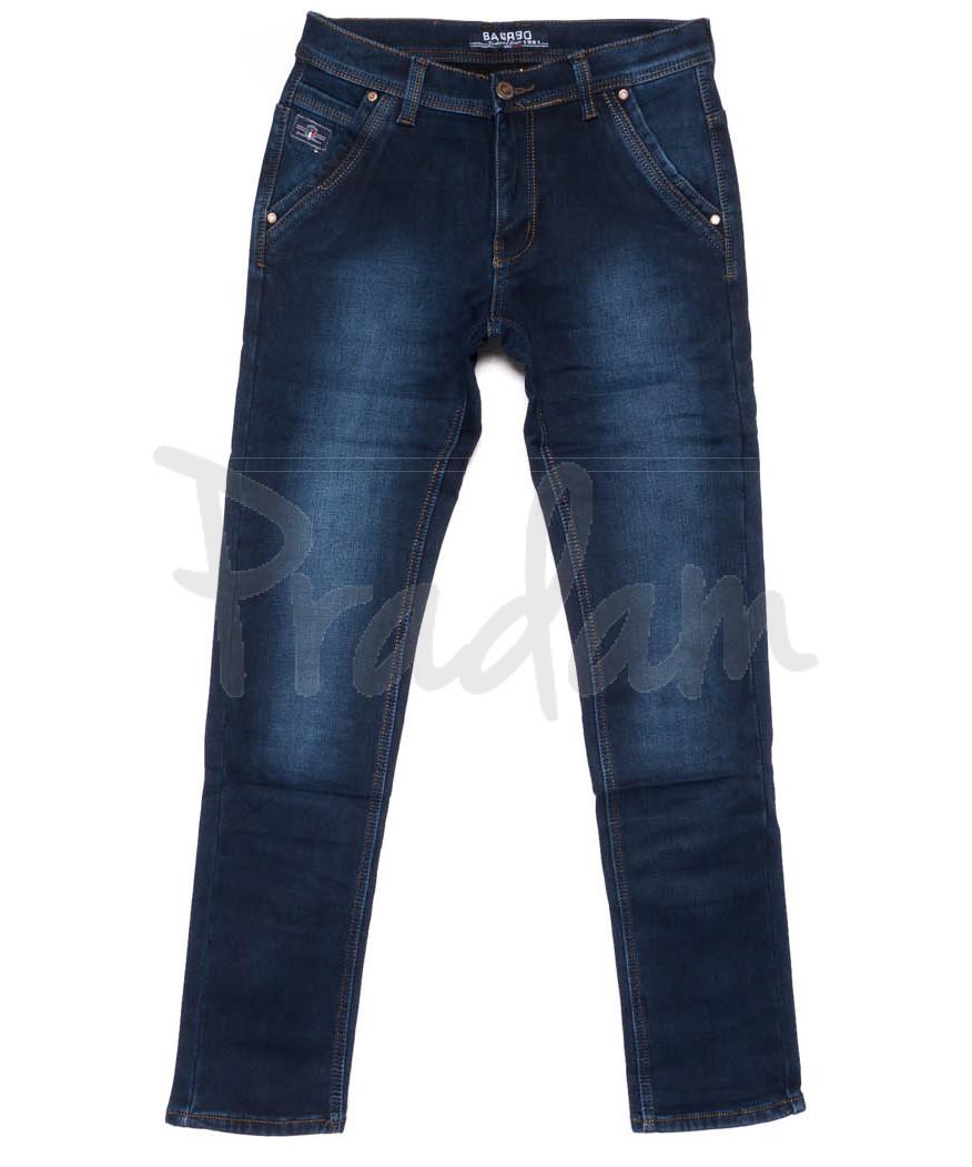 3728 Bagrbo джинсы мужские молодежные на флисе зимние стрейчевые (28-36, 8 ед.)