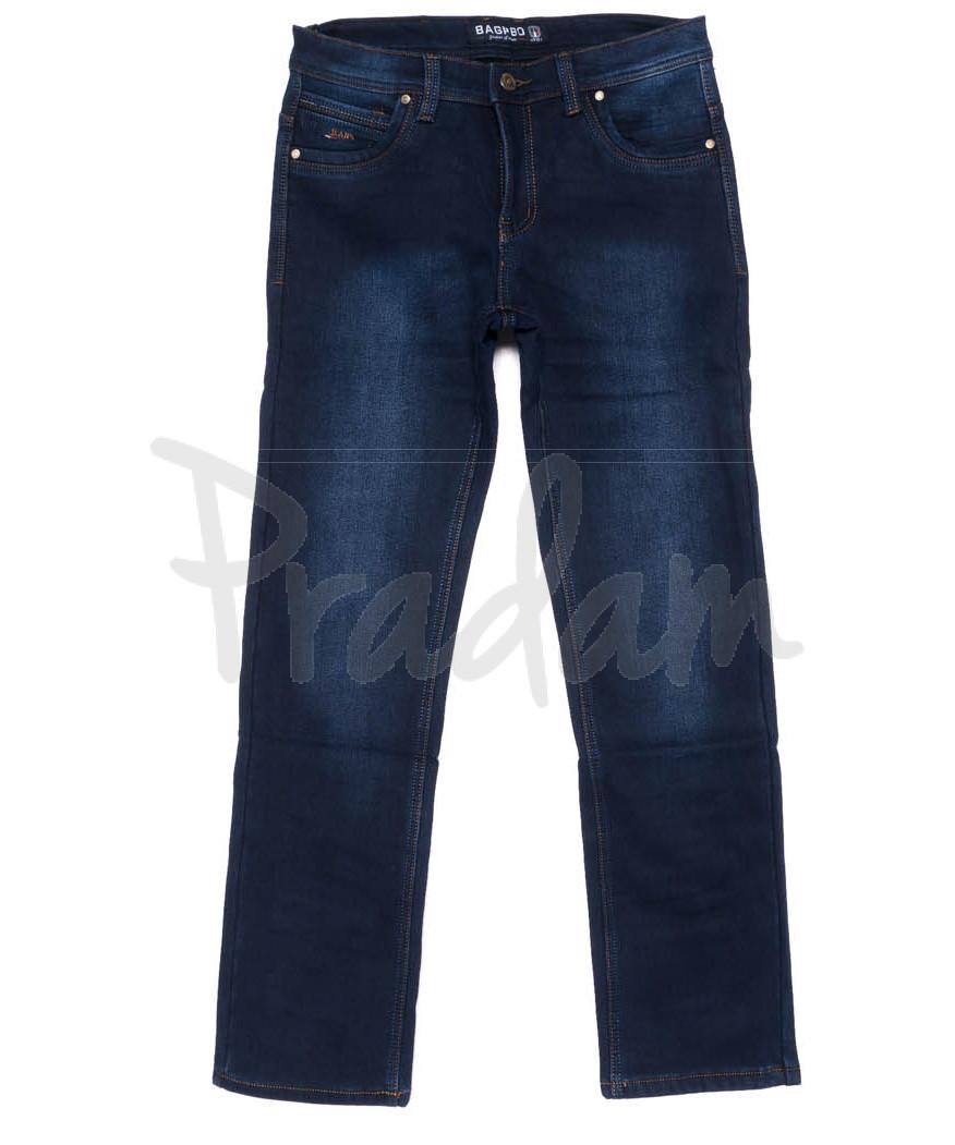 6853 Bagrbo джинсы мужские на флисе зимние стрейчевые (29-38, 8 ед.)