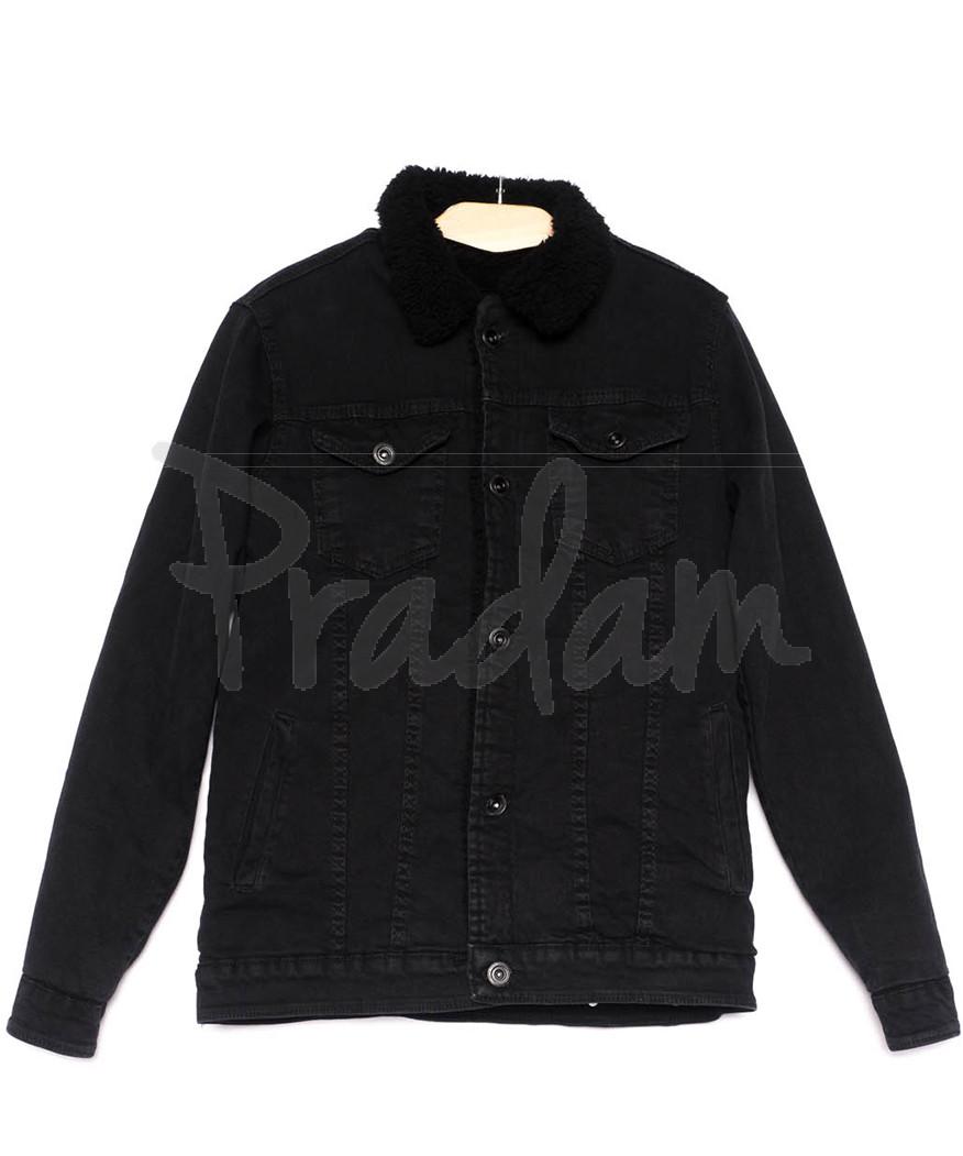 0910-1 X куртка мужская черная осенняя стрейчевая (S-XL, 5 ед.)