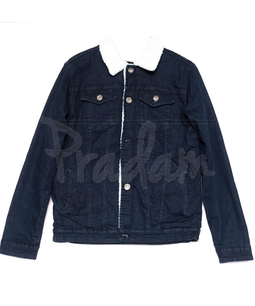 0910-2 X куртка мужская синяя осенняя стрейчевая (S-XL, 5 ед.)