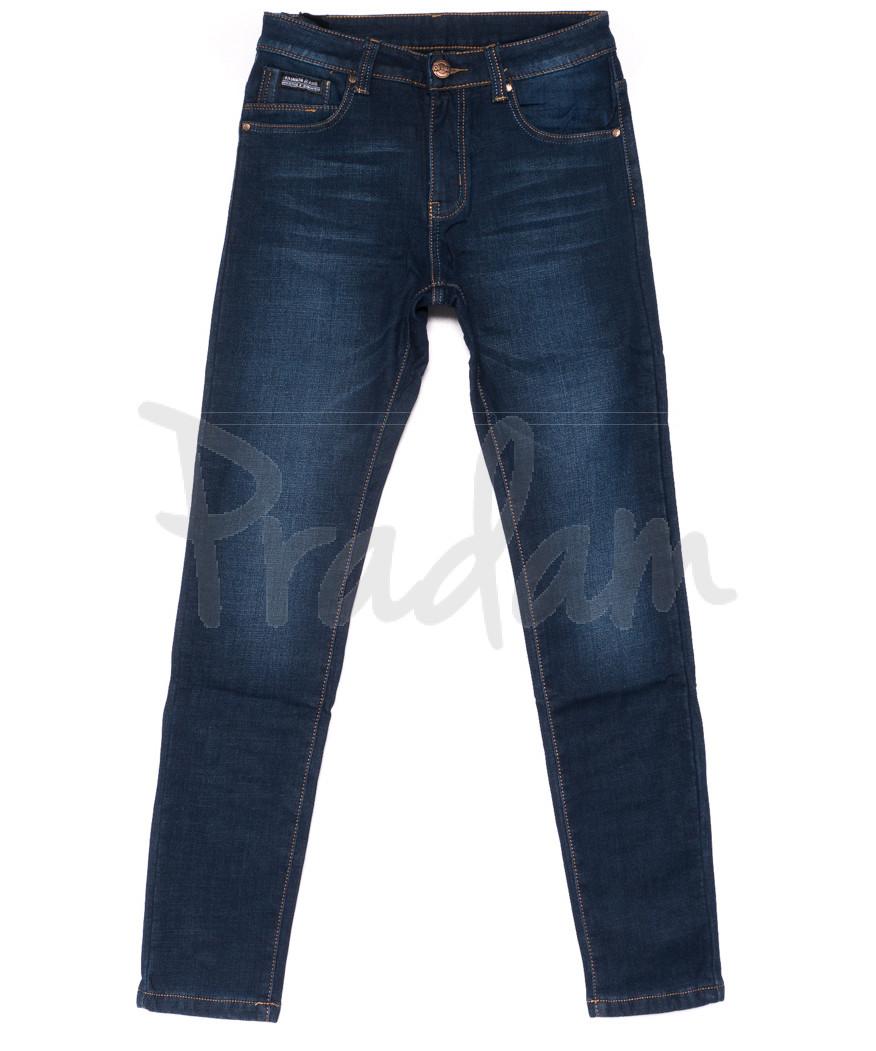 3513 New jeans джинсы мужские молодежные на флисе зимние стрейчевые (28-36, 8 ед.)