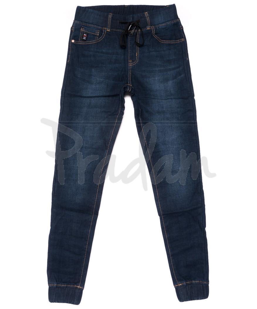 3506 New jeans джинсы мужские молодежные на резинке на флисе зимние стрейчевые (28-36, 8 ед.)