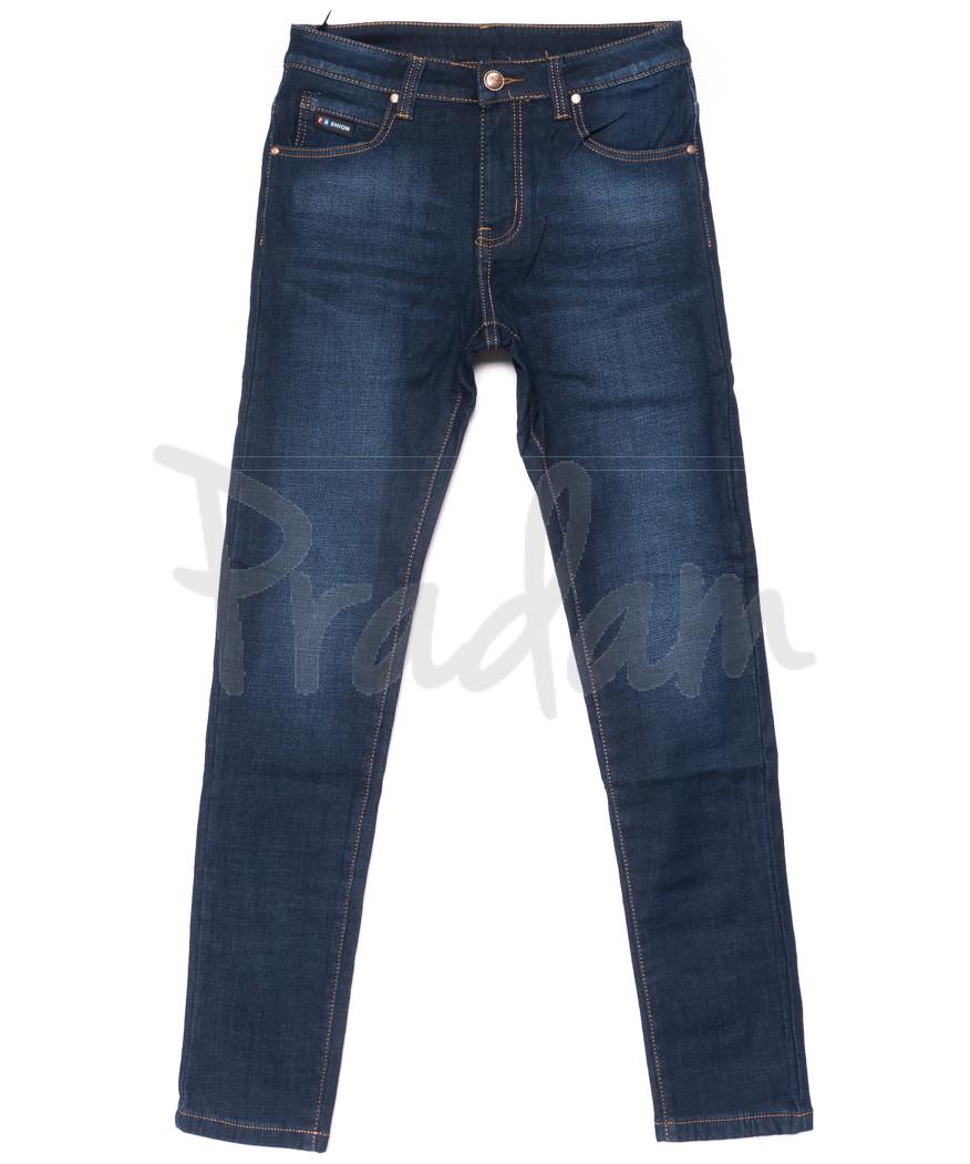 3507 New jeans джинсы мужские молодежные на флисе зимние стрейчевые (28-36, 8 ед.)
