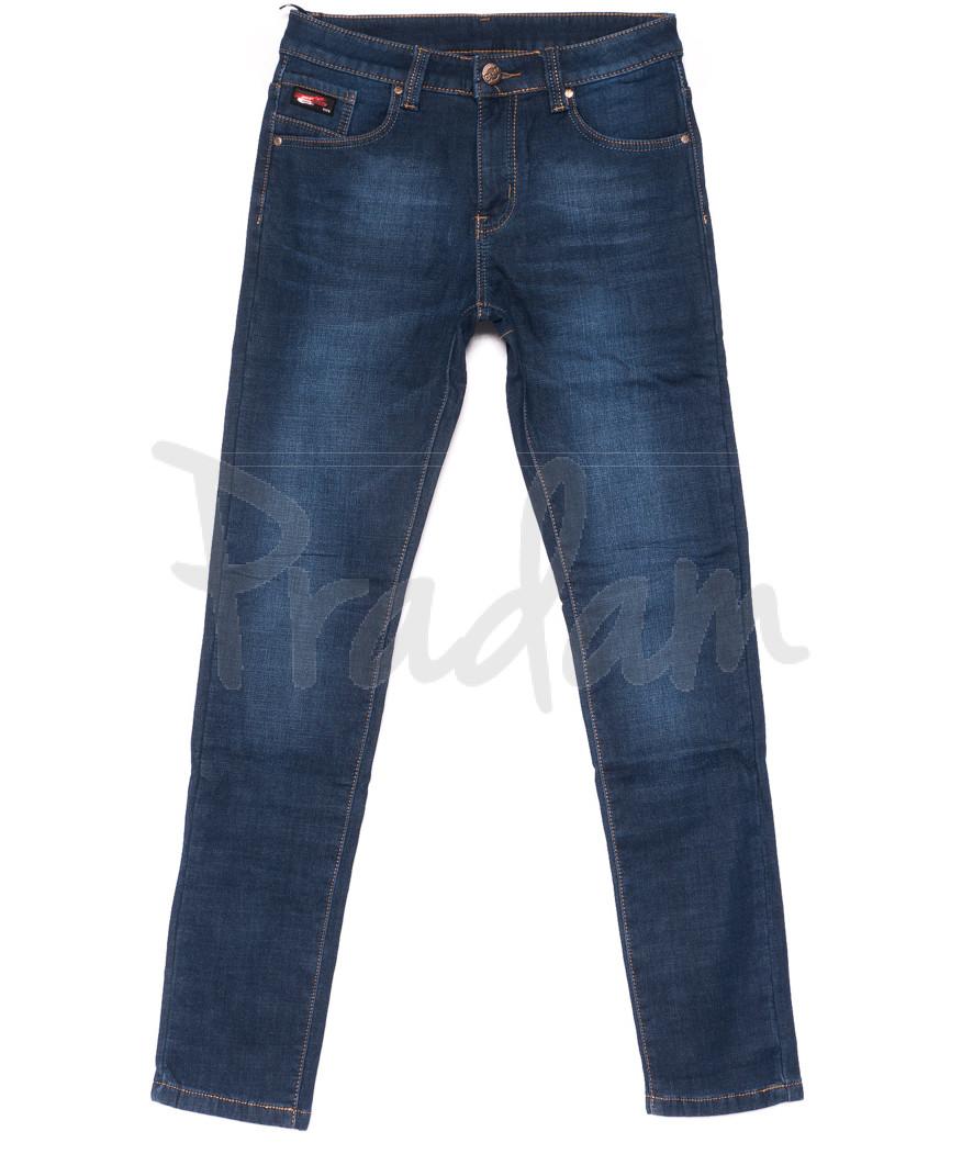 3508 New jeans джинсы мужские молодежные на флисе зимние стрейчевые (28-36, 8 ед.)