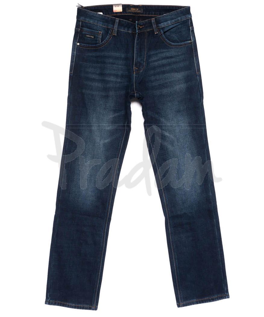 18248 Vouma-Up джинсы мужские полубатальные на флисе зимние стрейчевые (32-38, 8 ед.)