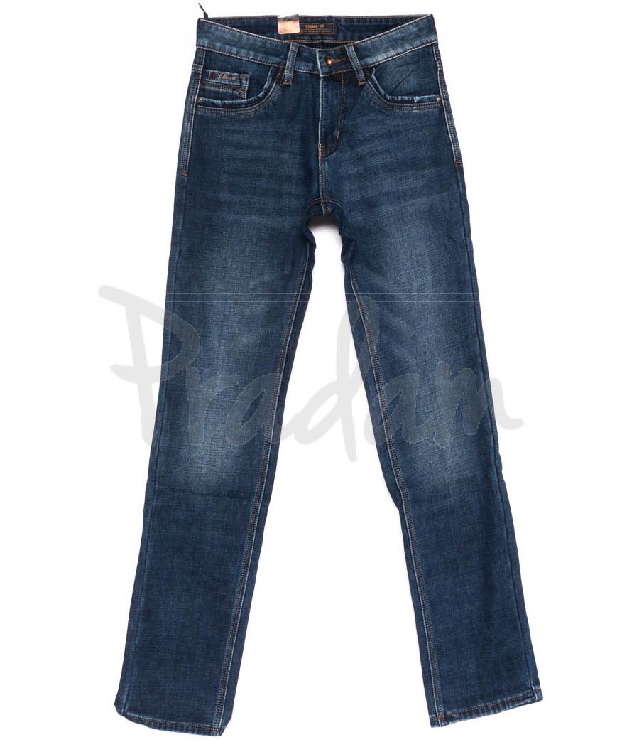 18245 Vouma-Up джинсы мужские молодежные на флисе зимние стрейчевые (28-36, 8 ед.)