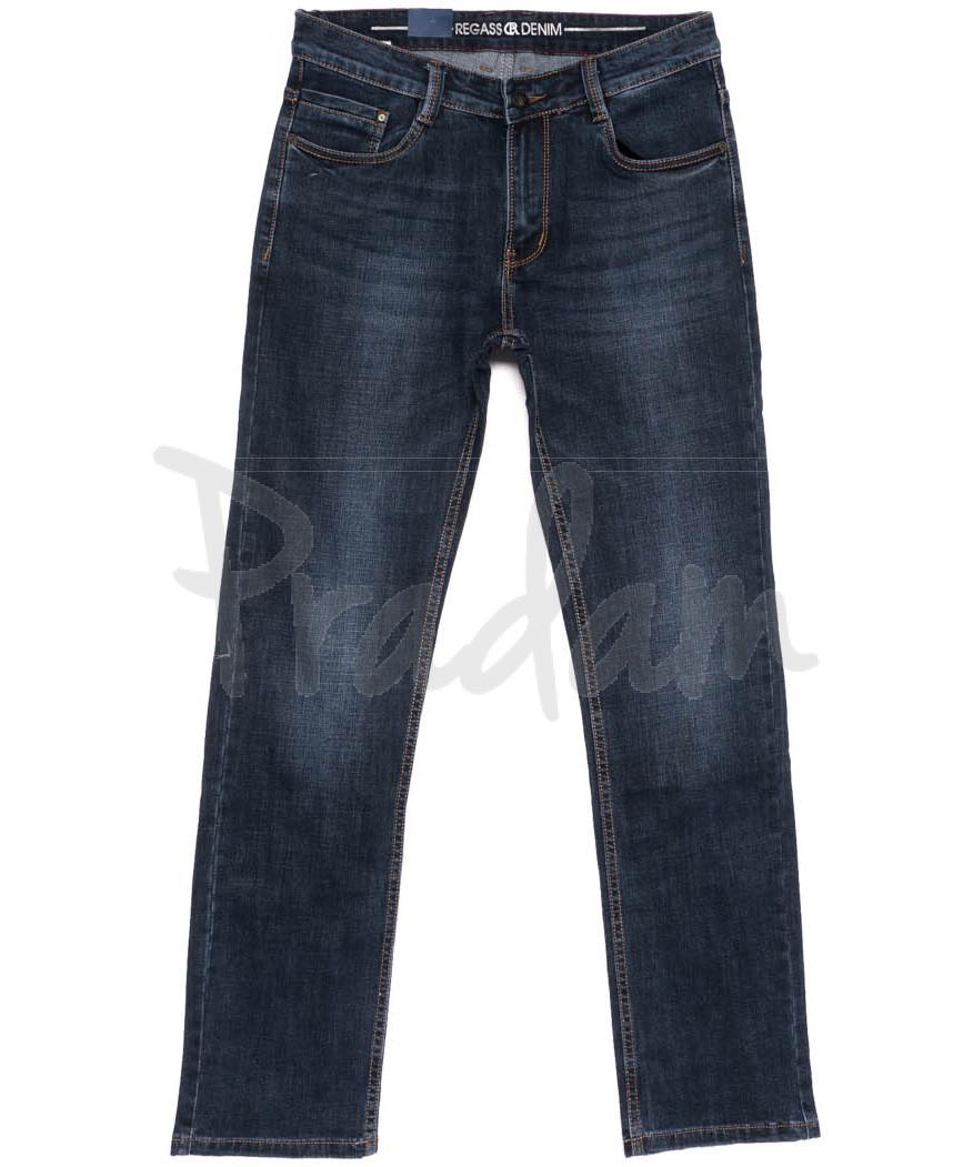 8123-13 Regass джинсы мужские полубатальные осенние стрейчевые (32-38, 7 ед.)