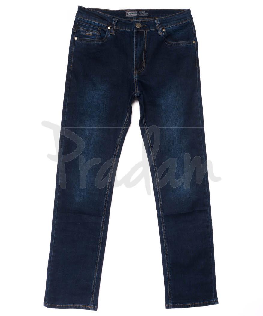 2226 Bagrbo джинсы мужские батальные синие осенние стрейчевые (34-38, 8 ед.)