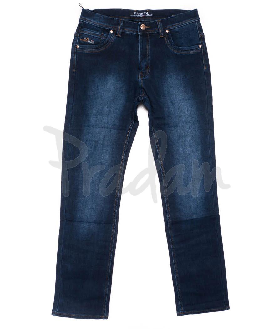1982 Bagrbo джинсы мужские синие на флисе зимние стрейчевые (29-38, 8 ед.)