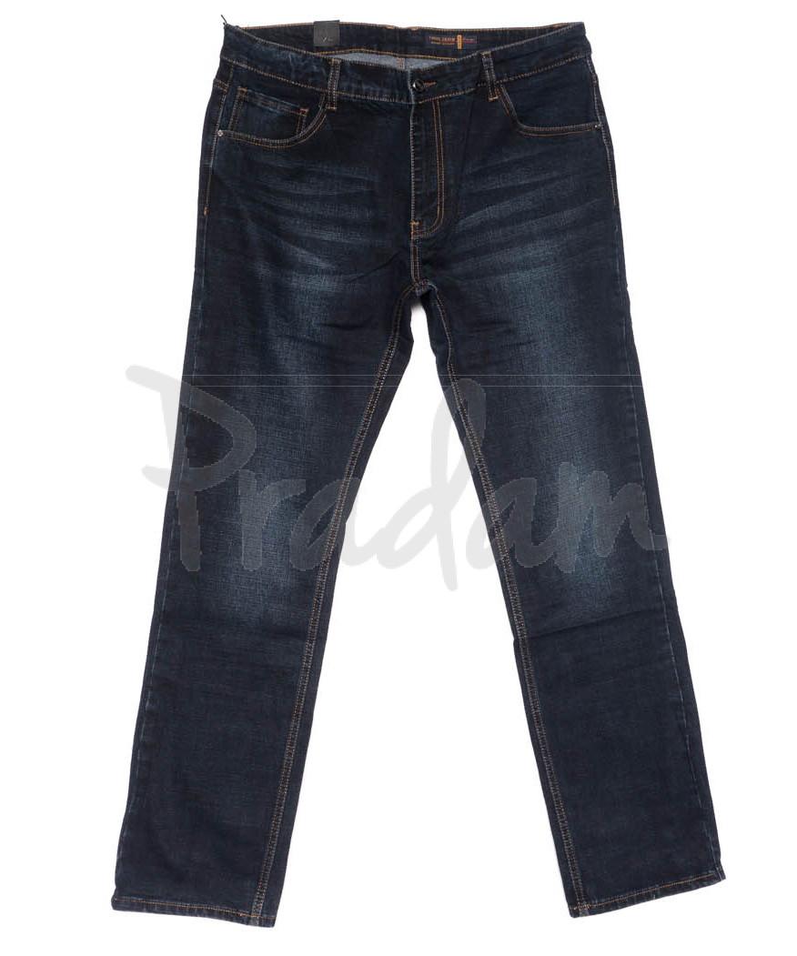 8231 Fhous джинсы мужские полубатальные синие осенние стрейчевые (32-42, 8 ед.)