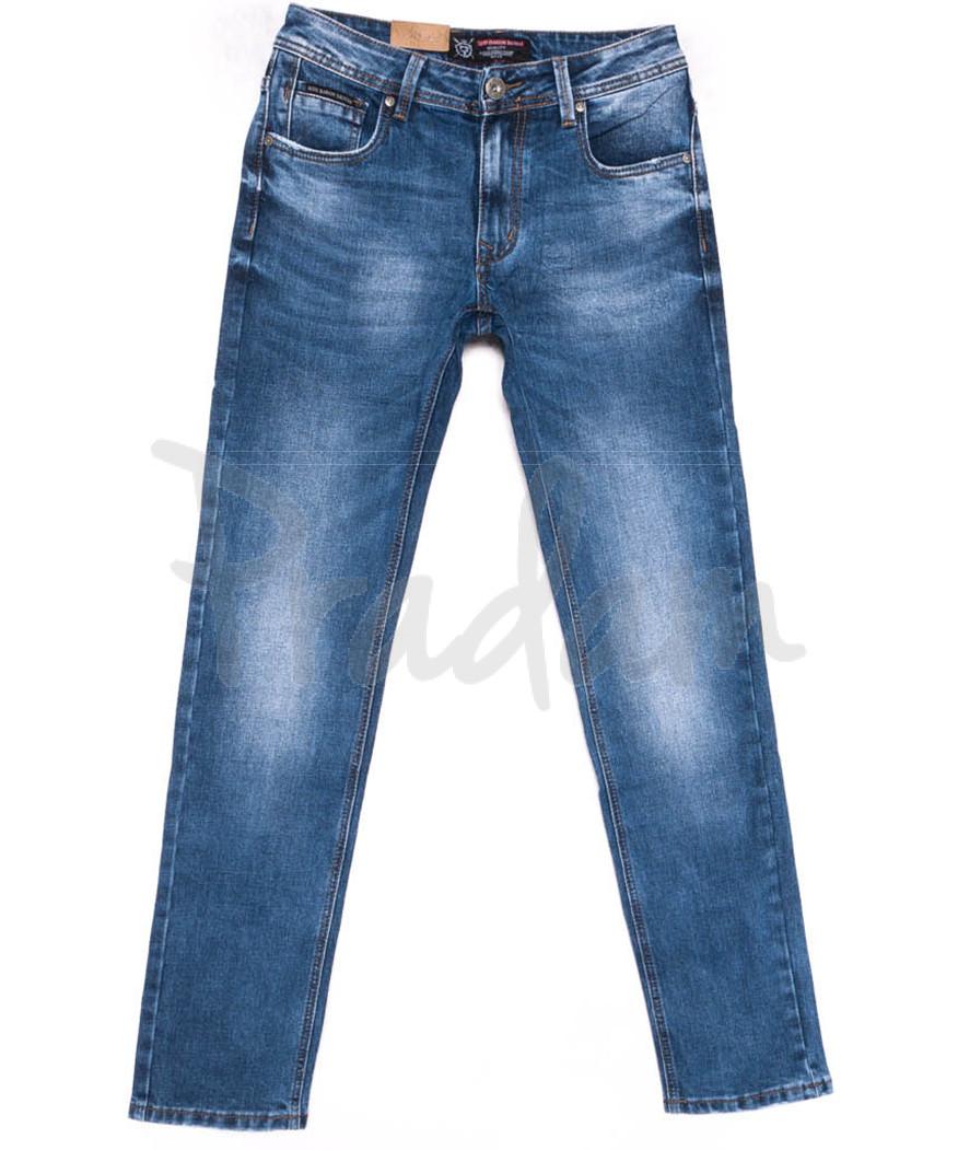 9402 God Baron джинсы мужские синие весенние стрейчевые (29-38, 8 ед.)