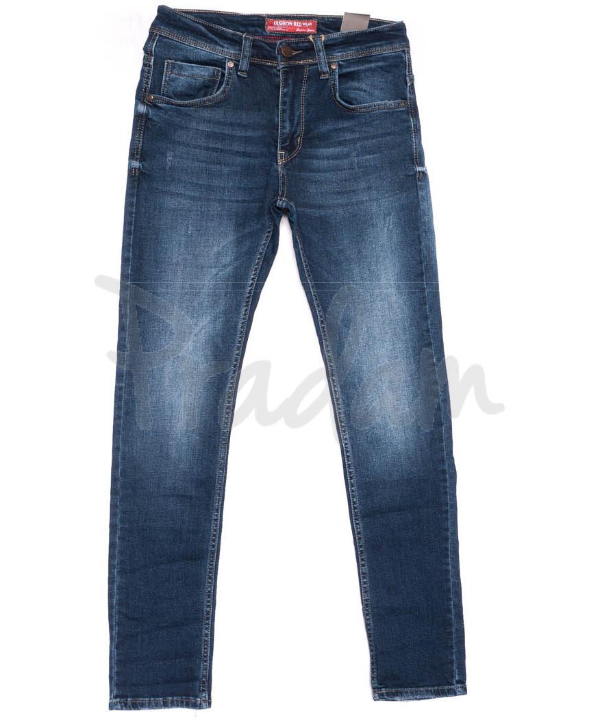 6166 Fashion Red джинсы мужские синие весенние стрейчевые (29-36, 8 ед.)