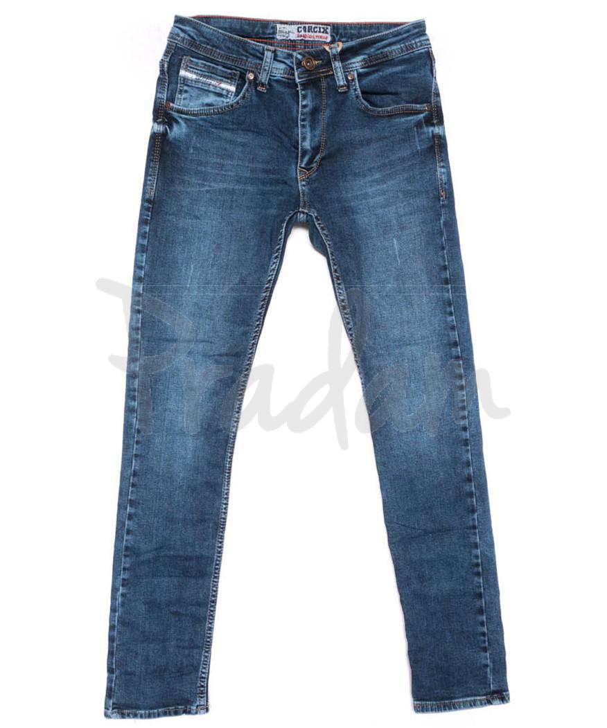 6089 Corcix джинсы мужские синие весенние стрейчевые (29-36, 8 ед.)