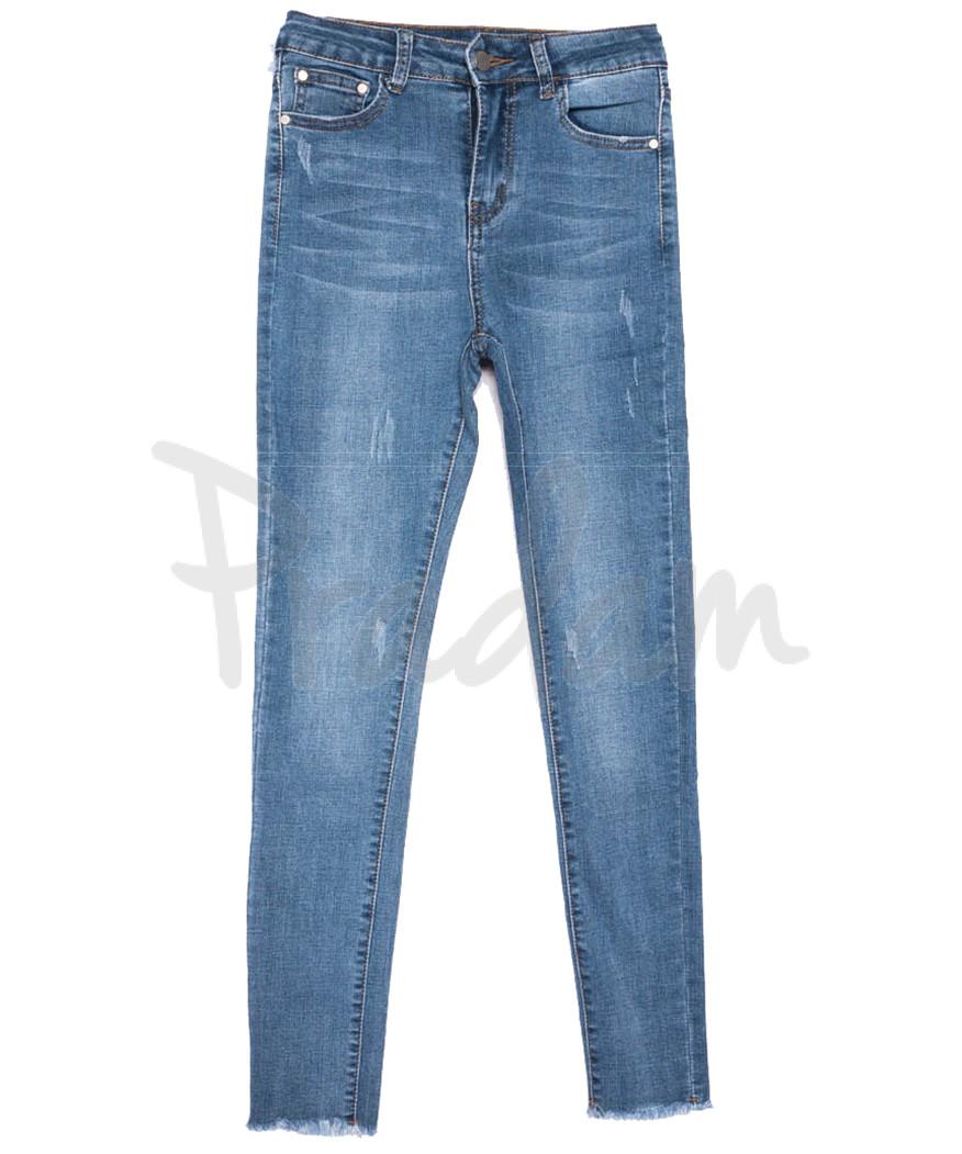 3621 New jeans джинсы женские зауженные синие весенние стрейчевые (25-30, 6 ед.)
