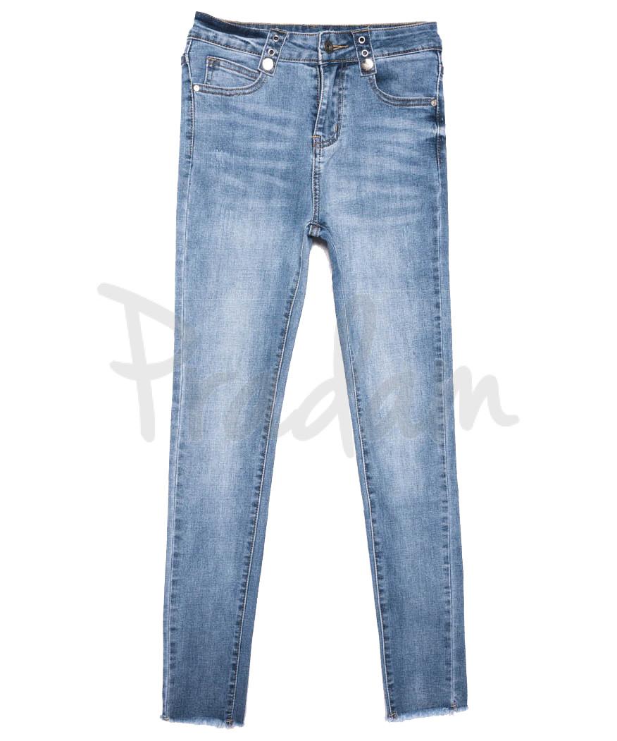 3637 New jeans джинсы женские зауженные синие весенние стрейчевые (25-30, 6 ед.)