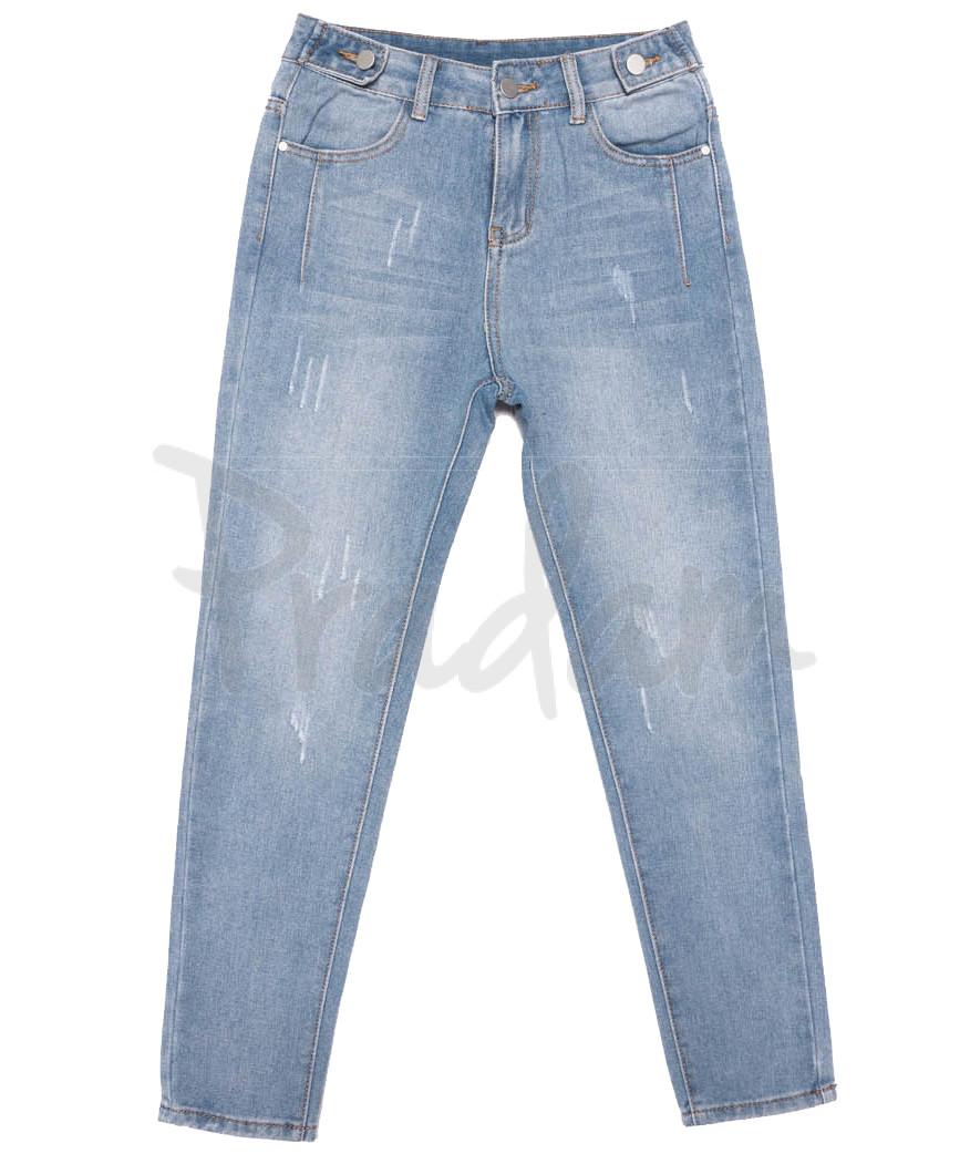 3649 New jeans мом синий весенний коттоновый (25-30, 6 ед.)
