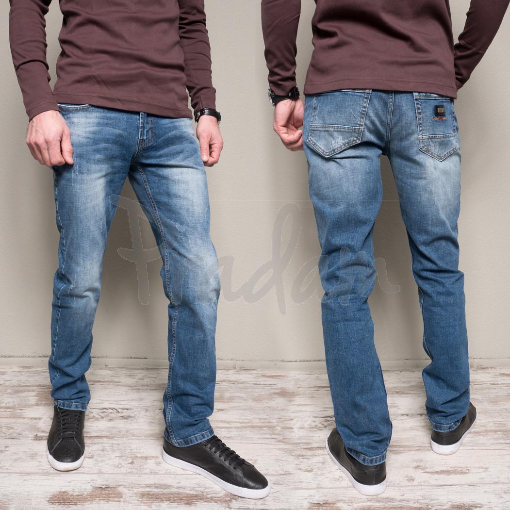 9911-4 R Relucky джинсы мужские с теркой весенние стрейчевые (29,34-3,36-2,38-2, 8 ед.)
