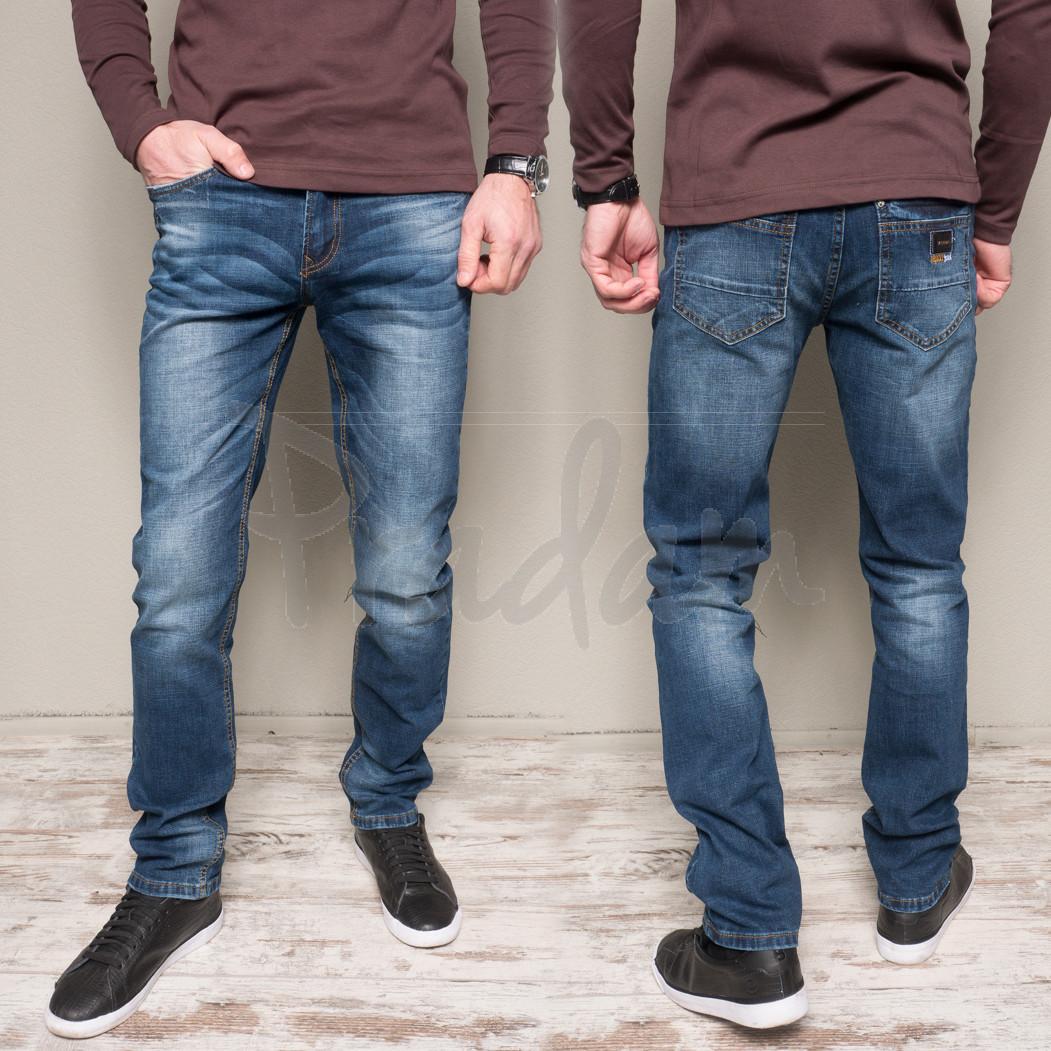 9905-3 R Relucky джинсы мужские синие весенние стрейчевые (29-38, 8 ед.)