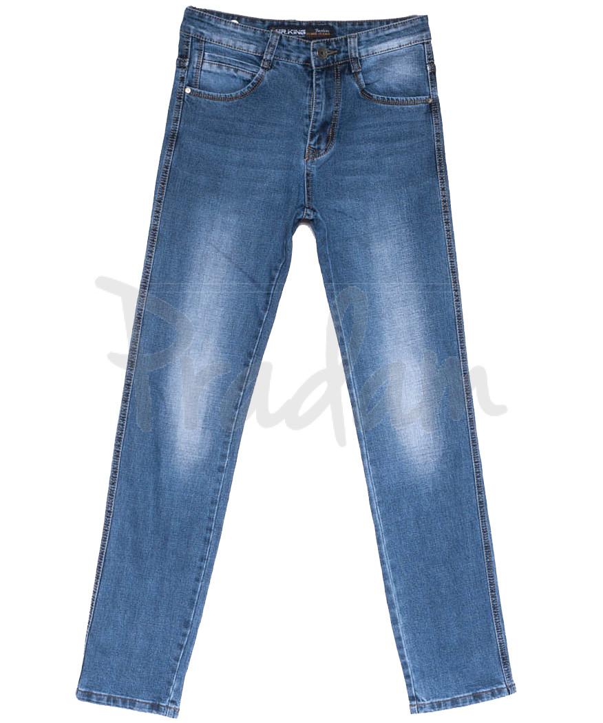 8211 Mr.King джинсы мужские батальные синие весенние стрейчевые (31-38, 8 ед.)
