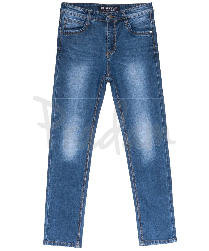 6223 Die Ser джинсы мужские батальные синие весенние коттоновые (32-38, 8 ед.)
