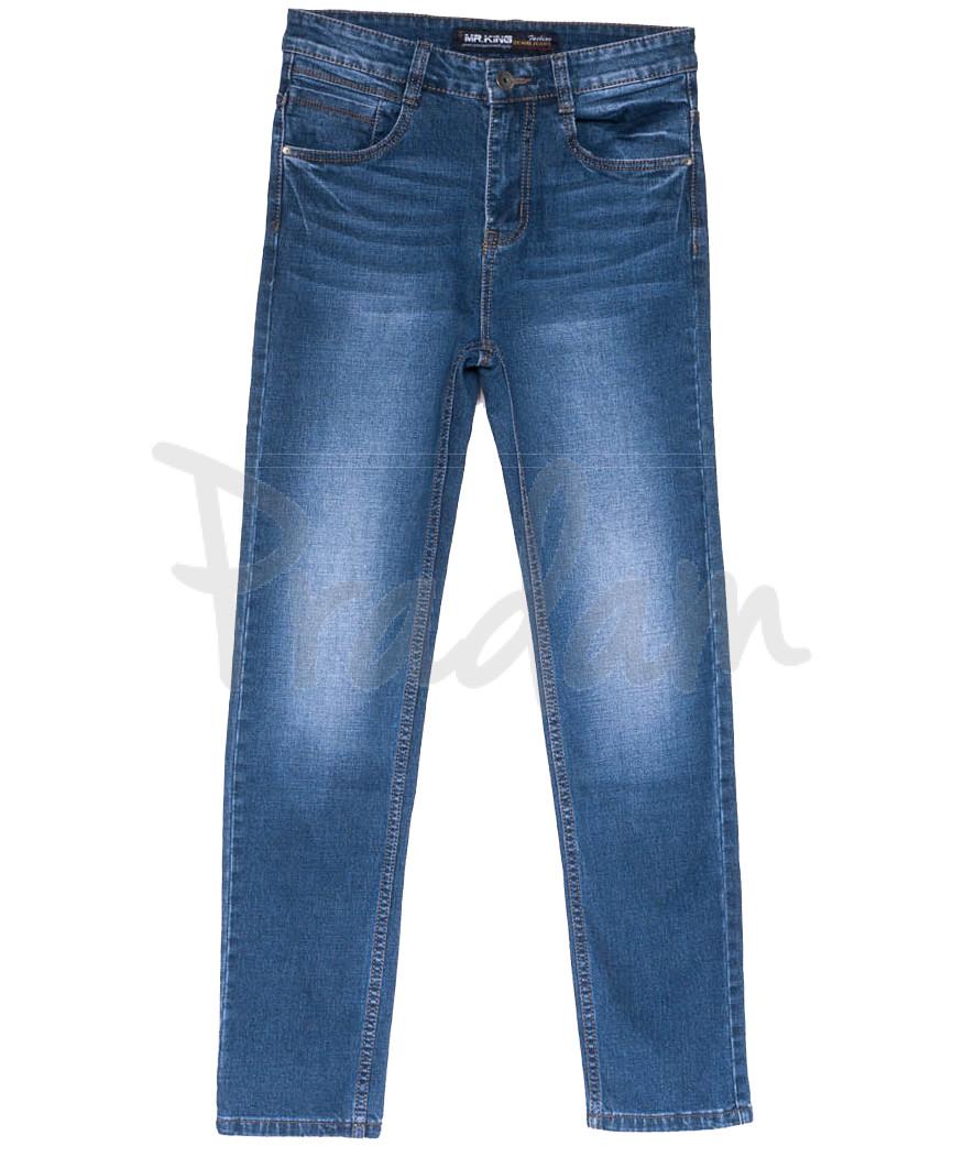 8219 Mr.King джинсы мужские батальные синие весенние коттоновые (31-38, 8 ед.)