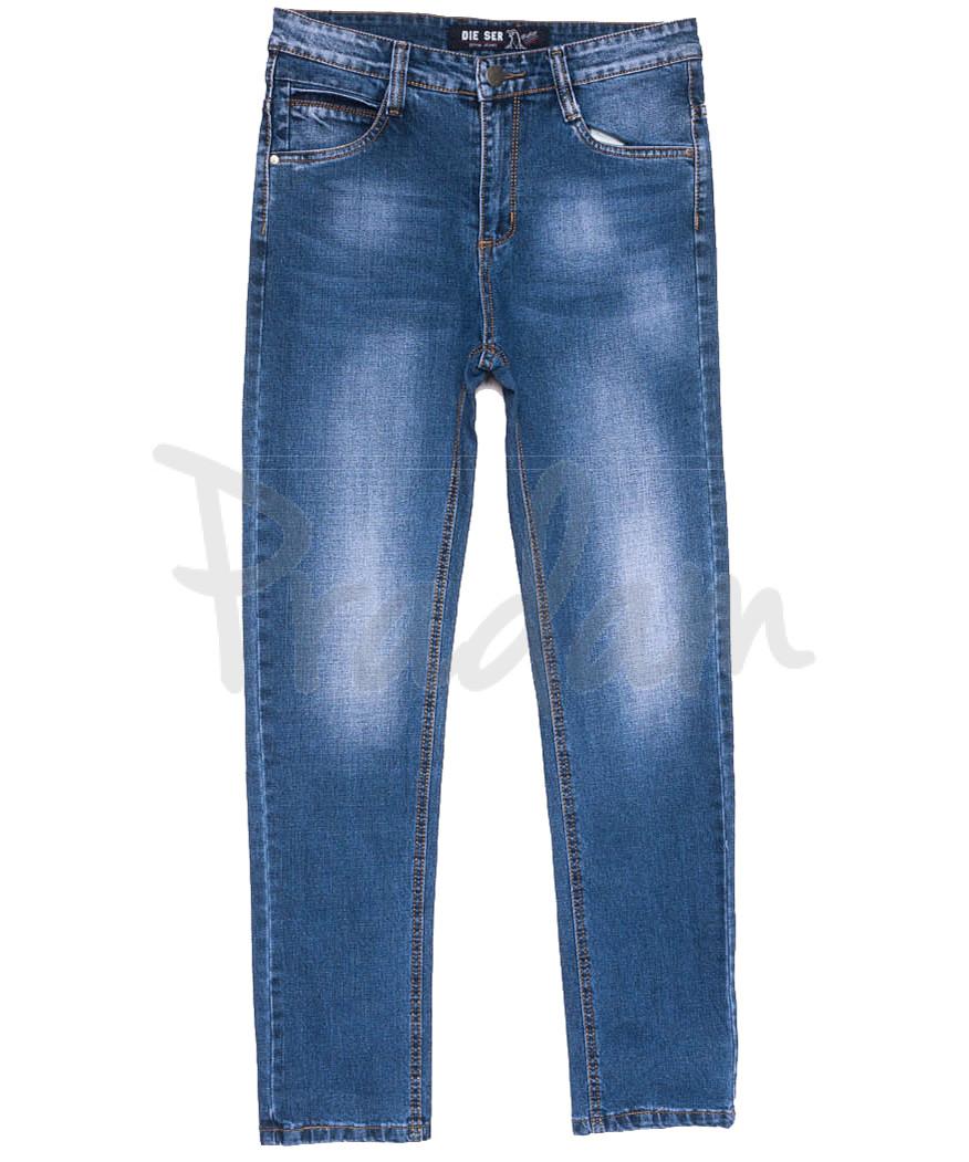 6222 Die Ser джинсы мужские батальные синие весенние коттоновые (32-38, 8 ед.)