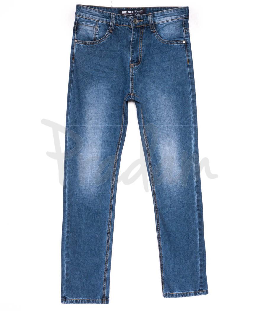 6225 Die Ser джинсы мужские батальные синие весенние коттоновые (31-38, 8 ед.)