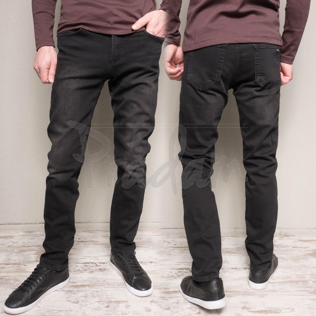 1159 Cookers джинсы мужские полубатальные темно-серые весенние стрейчевые (30-38, 7 ед.)