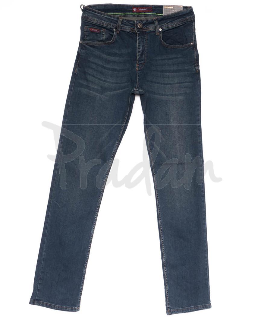 0650 Redmoon джинсы мужские синие весенние стрейчевые (31-38, 6 ед.)