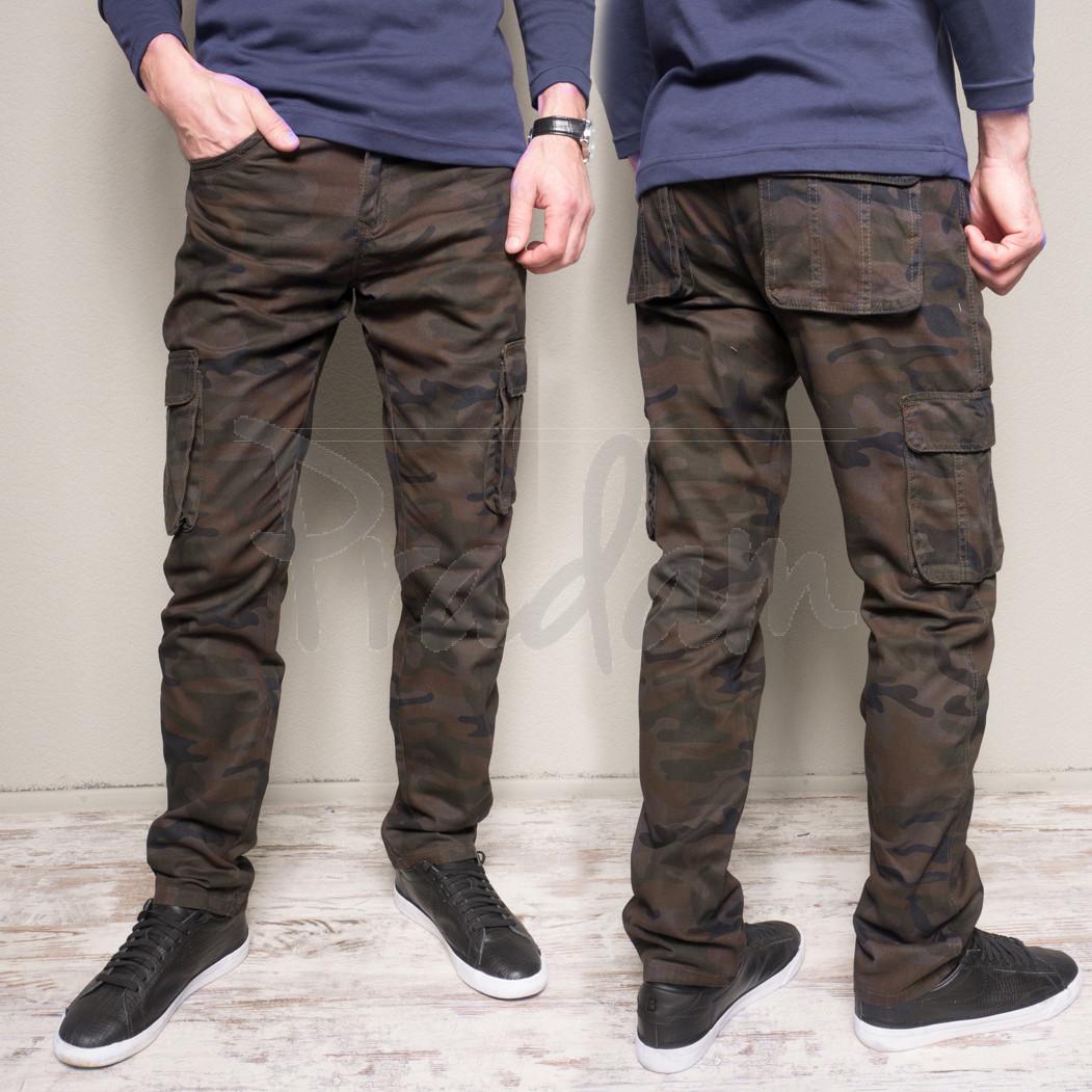 0085 SA.Rooney брюки мужские батальные камуфляжные весенние котоновые (32-42, 10 ед.)