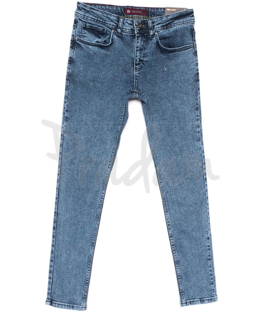 0674 Redmoon джинсы мужские синие весенние стрейчевые (29-36, 7 ед.)