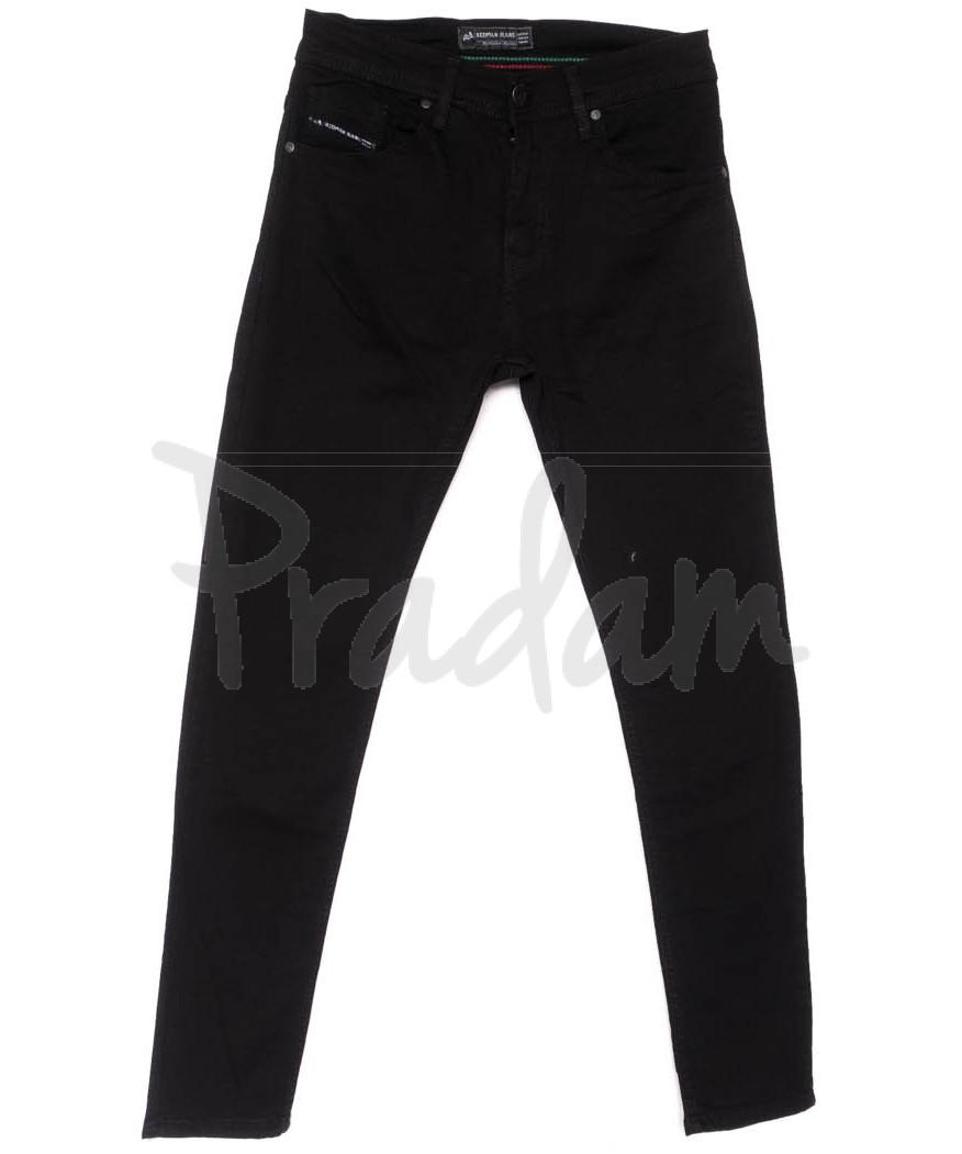 5685 Siyah Redman джинсы мужские черные весенние стрейчевые (29-36, 8 ед.)