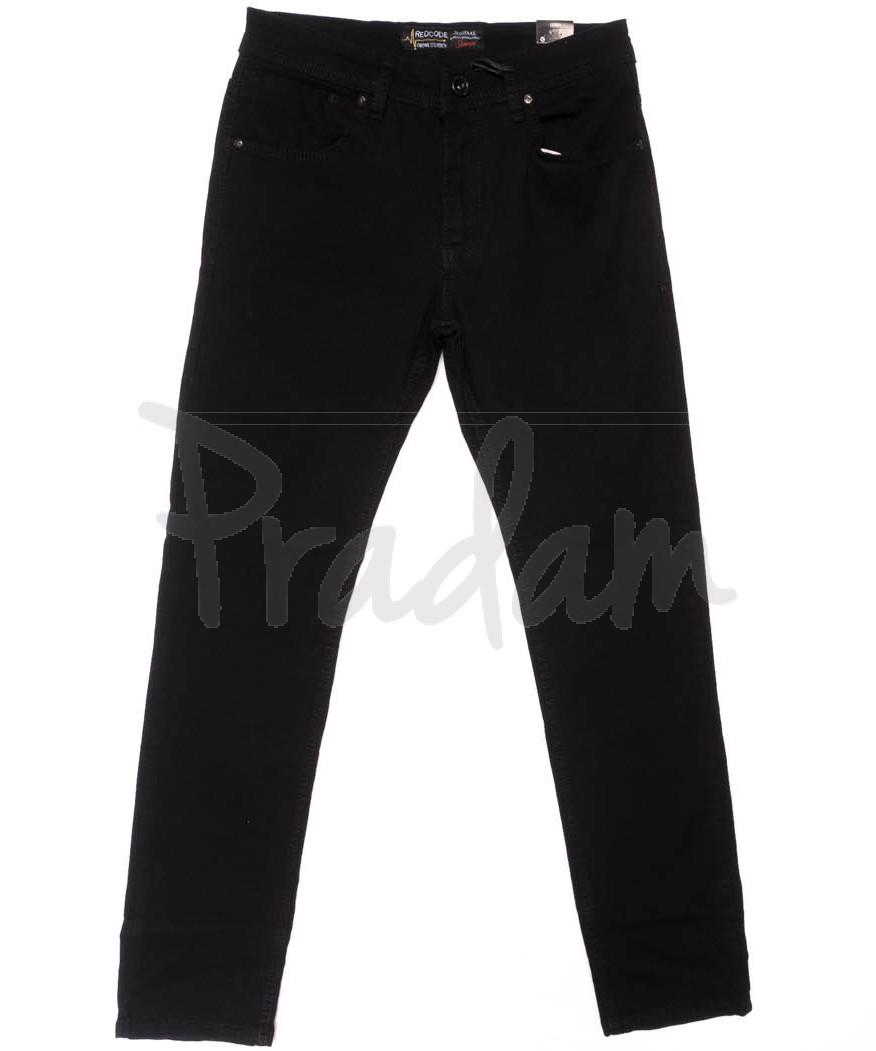6390 Redcode джинсы мужские черные весенние стрейчевые (29-36, 8 ед.)