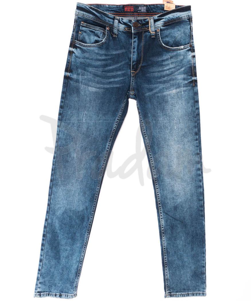 6150 Fashion red джинсы мужские синие весенние стрейчевые (29-36, 8 ед.)