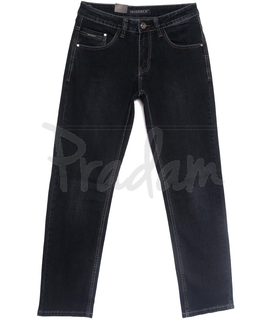 59968 Moshrck джинсы мужские черные весенние стрейчевые (29-38, 8 ед.)