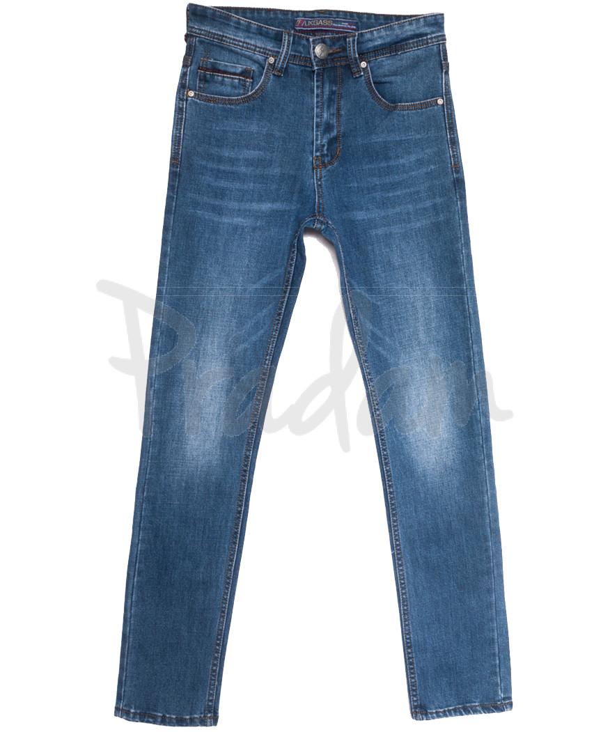 0643-А Likgass джинсы мужские молодежные синие весенние стрейчевые (28-36, 8 ед.)