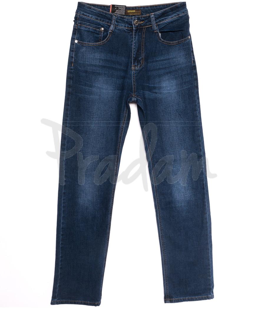 0737 Likgass джинсы мужские синие весенние стрейчевые (30-38, 8 ед.)