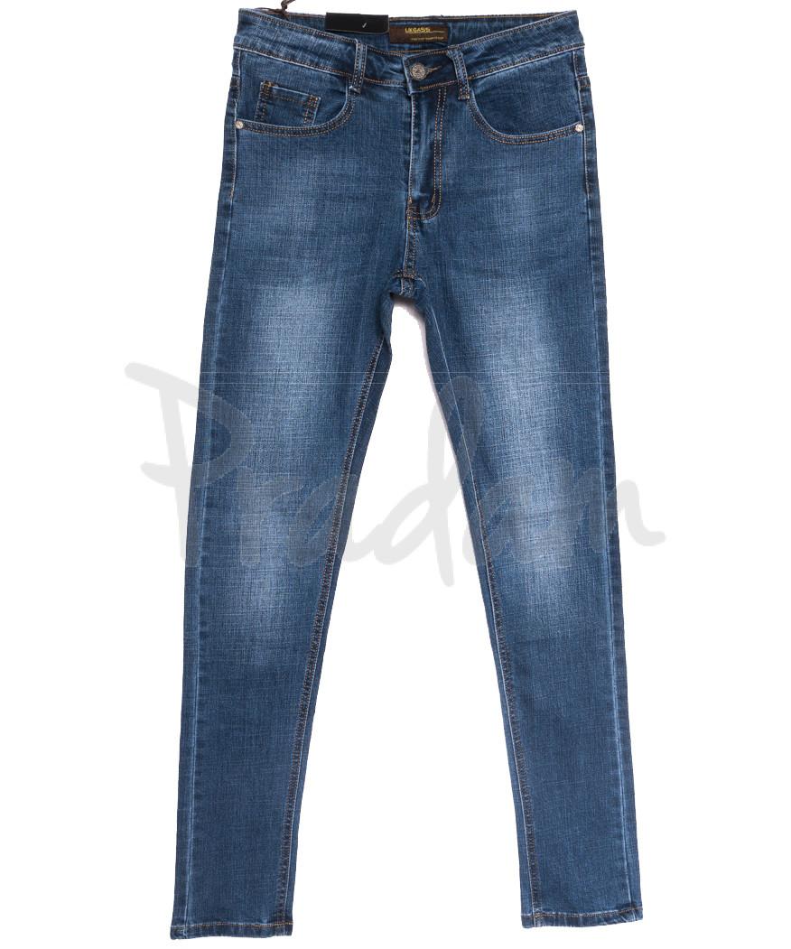 0708 Likgass джинсы мужские молодежные синие весенние стрейчевые (28-36, 8 ед.)