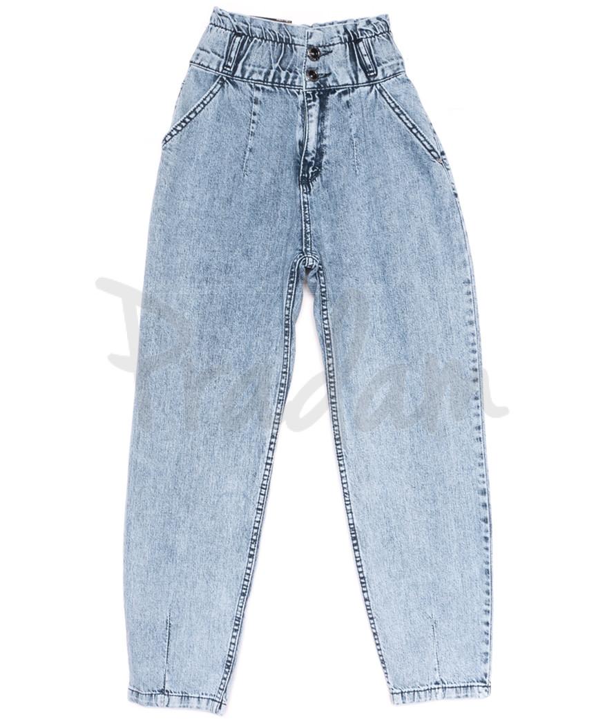 0741 Red Moon джинсы-баллон синие весенние коттоновые (25-30, 6 ед.)