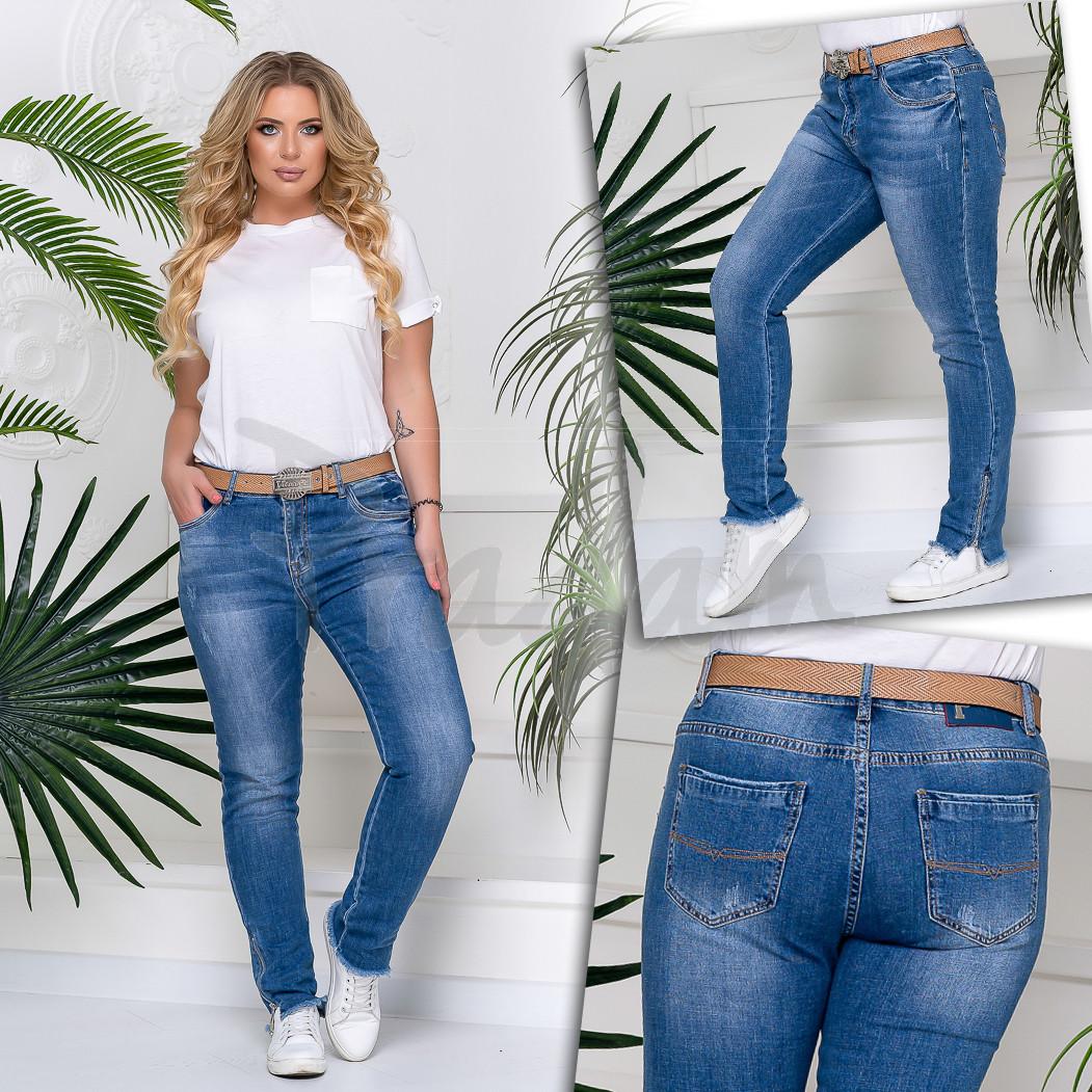 8221 Vanver джинсы женские батальные стрейч-котон (30-36, 6 ед.)
