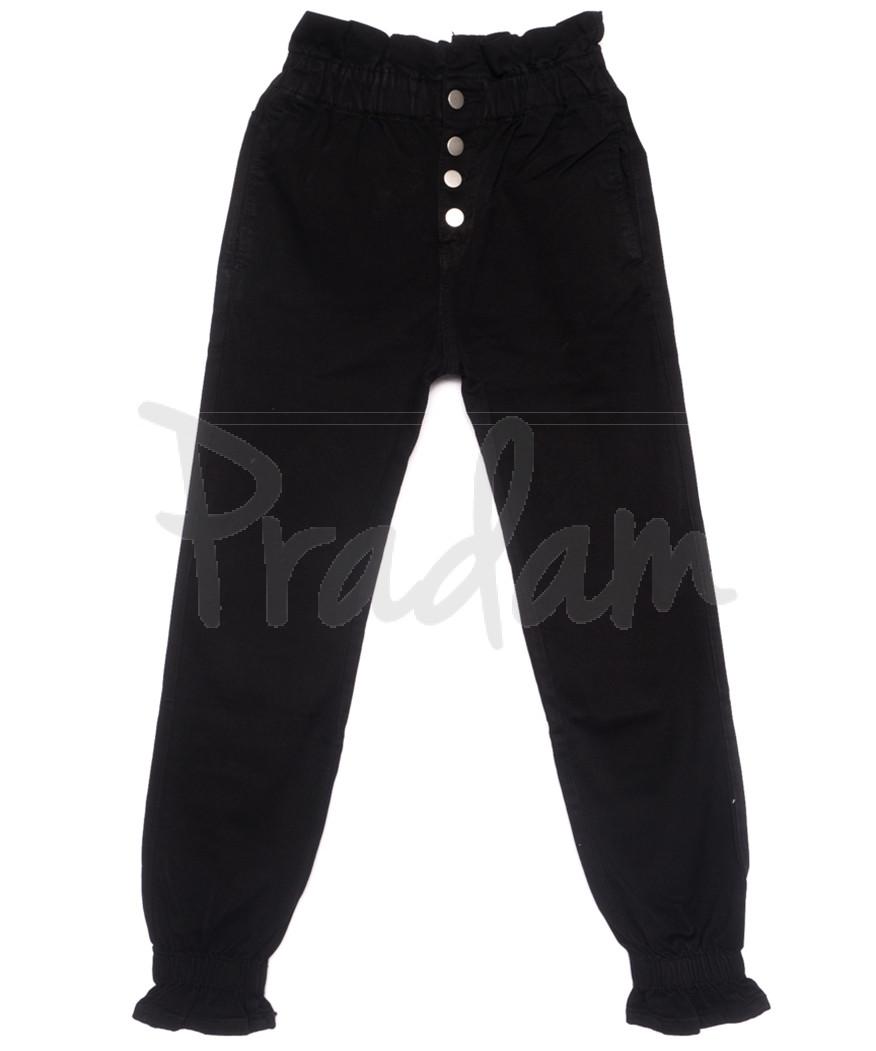 1106-13 M.Sara джинсы женские на резинке черные весенние стрейчевые (XS-XL, 6 ед.)