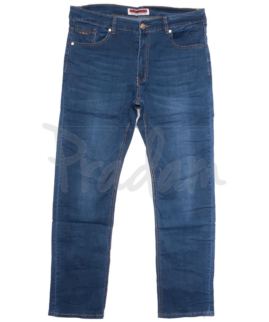 66003 Pr.Minos джинсы мужские синие летние стрейчевые (29-38, 8 ед.)