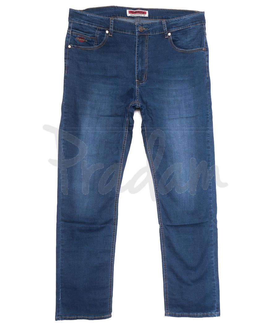 66005 Pr.Minos джинсы мужские синие летние стрейчевые (29-38, 8 ед.)