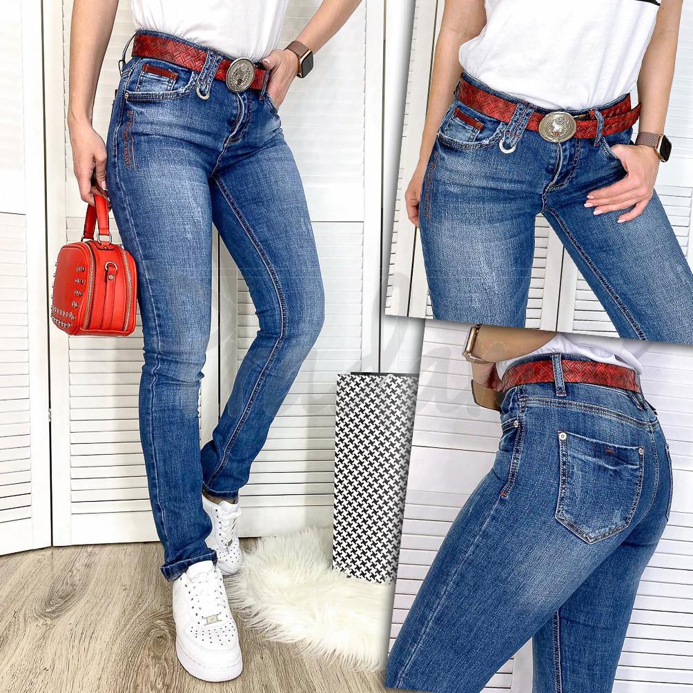 8188 Vanver джинсы женские весенние стрейчевые (25-30, 6 ед.)