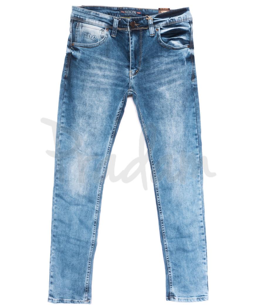 6849 Redcode джинсы мужские синие весенние стрейчевые (29-36, 8 ед.)