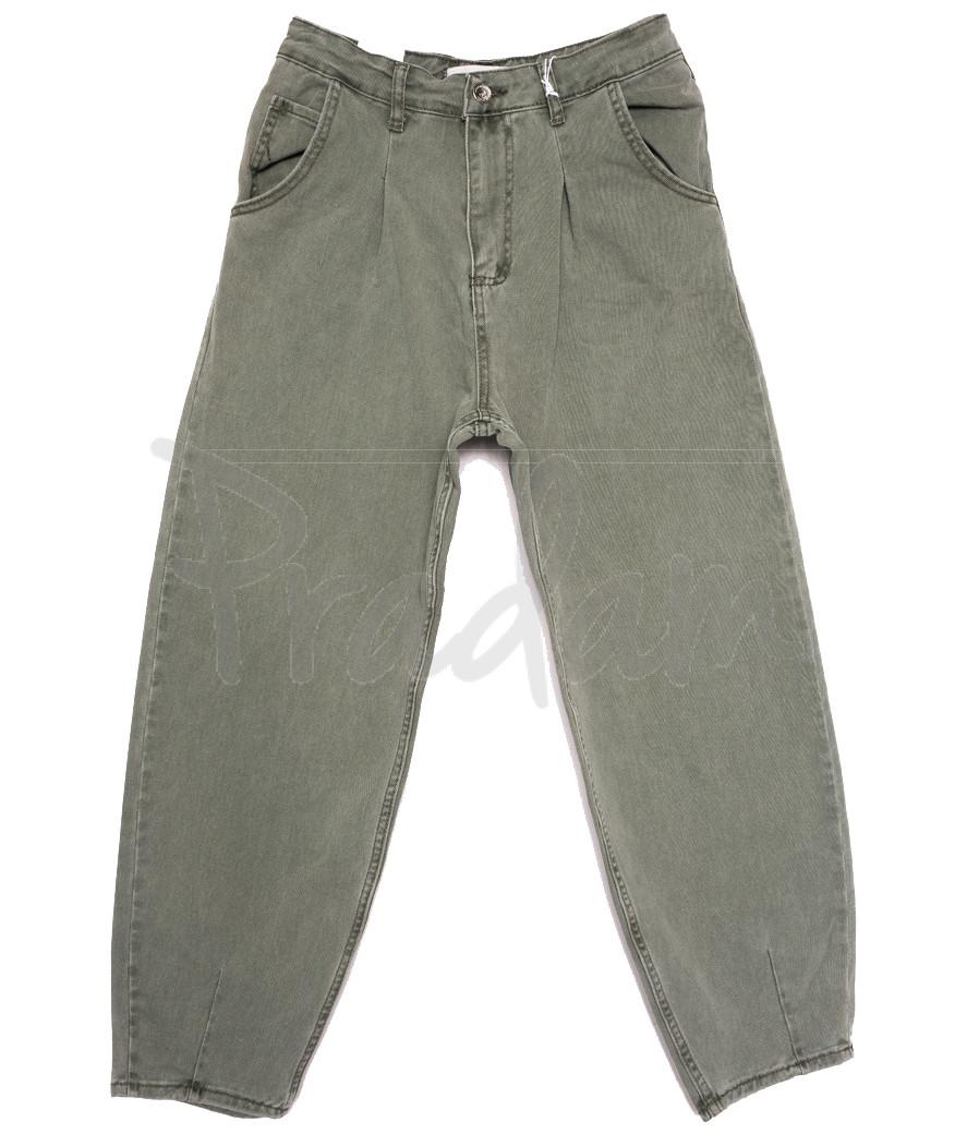 3432 хаки Xray джинсы-баллон весенние коттоновые (26-31, 6 ед.)