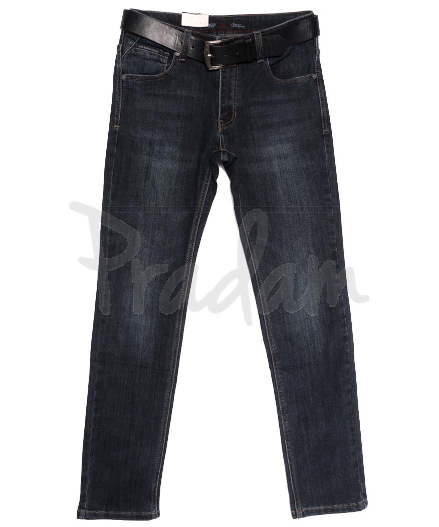 0020-07 (GD20C07-Х6) God Baron джинсы мужские синие осенние стрейчевые (29-38, 8 ед.)